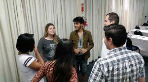 Grupo preparando narrativa. - IBRALC