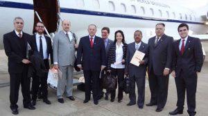 Na Colômbia para reunião com o Ministro da Justiça