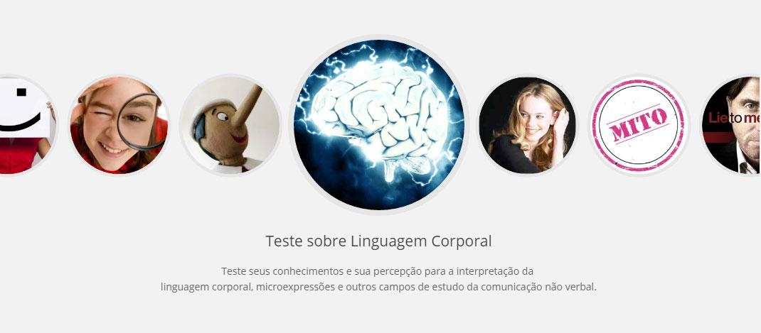 Testes sobre linguagem corporal, microexpressões e comunicação não verbal